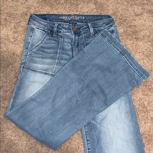 American Eagle jeans, flared size 6